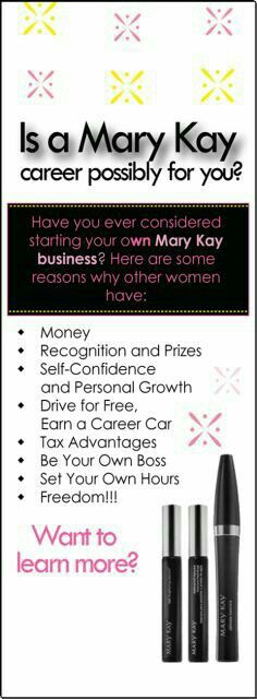 how to start selling mary kay products