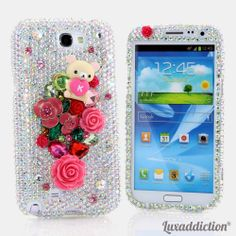 """Style 745 Bling case for all phone / device models. This Bling case can be handcrafted for Samsung Galaxy S3, S4, Note 2. The current price is $79.95 (Enter discount code: """"facebook102"""" for an additional 10% off during checkout)"""