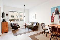 Un apartamento de 43 m² muy bien distribuido | Decorar tu casa es facilisimo.com
