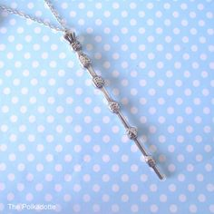 Harry Potter Magic Wand Necklace Hogwarts Wizard Witch HP Wizardry Leviosa…