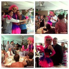 Lolita agitou o Casamento da Carina e do Thiago! Faça diferente, faça a diferença!!! #casamento #wedding #animacaodefesta #homenagem #noiva #noivo #assessor #assessoria #dragqueen #casar #casando #artedatribo