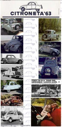 1963 Citroneta -  Chilean and Argentinian Citroën 2CV