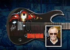 Win an Iron Man Guitar Signed by Stan Lee!
