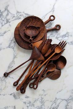 Kitchen Accessories Design Wooden Spoons Ideas For 2019 Wood Spoon, Wooden Kitchen, Kitchen Utensils, Kitchen Tools, Serving Utensils, Kitchen Products, Cooking Utensils, Kitchen Items, Kitchen Gadgets