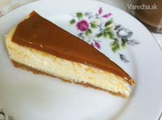 Karamelový cheesecake Cheesecake Recipes, Good Food, Food And Drink, Sweets, Baking, Desserts, Tailgate Desserts, Deserts, Good Stocking Stuffers