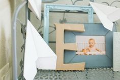 vintage pretty: Paper Airplane First Birthday //