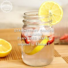 Rethink your refreshments with this strawberry, ginger, and lemon flavored water. This SWEET SWAPS™ Recipe was inspired by Chelsea T. from Sunny with a Chance of Sprinkles.