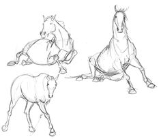 Neets quick horse sketches inspiration folder in 2019 лошади Drawing Poses, Drawing Sketches, Painting & Drawing, Sketching, Horse Drawings, Animal Drawings, Art Drawings, Horse Sketch, Horse Anatomy