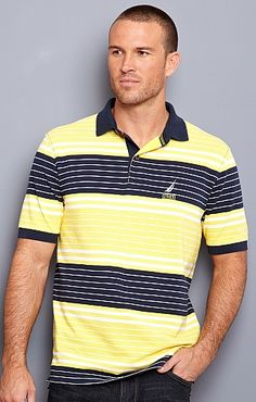 Thin Stripe Polo