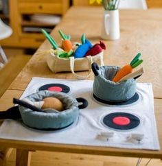 Fair trade hand woven toys and gifts - Cooking Play Set - Weaving Hope weavinghope.co.uk
