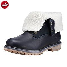 Timberland A182Q W/L Authentics Teddy Fleece Lined Boots black iris, Größe:39 - Timberland schuhe (*Partner-Link)