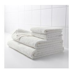 IKEA - HÄREN, Bath towel, A terry towel in medium thickness that is soft and highly absorbent (weight 400 g/m²).The long, fine fibers of combed cotton create a soft and durable towel.