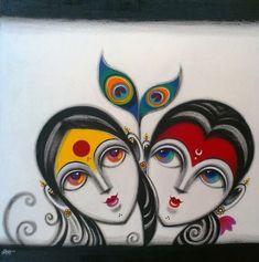 Diy art on canvas paint canvases 32 Trendy ideas Buddha Painting, Buddha Art, Krishna Painting, Madhubani Art, Madhubani Painting, Cool Art Drawings, Art Drawings Sketches, Fabric Painting, Painting & Drawing