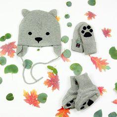 Med detta urgulliga björn kit håller sig även våra minsta vänner varma! #polarnopyret