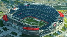 Denver Sports Authority Field at Mile High is home to the Denver Broncos. Located in the team's home city, the venue was completed in 2001 by the New York–based firm HNTB and can accommodate 76,125 spectators.