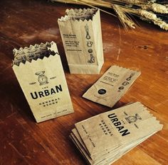 Self promotion idea. If the only money you have to spend promoting yourself - spend the amount on a great card - These crafty folded business card turn into a mini brown paper bag.