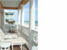 Carillon Beach house rental - Balcony off the Great Room