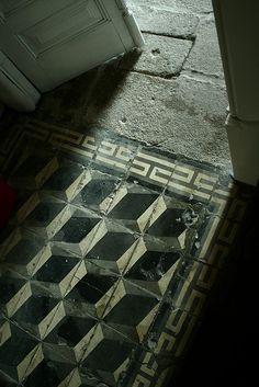 hydraulic/encaustic tiles