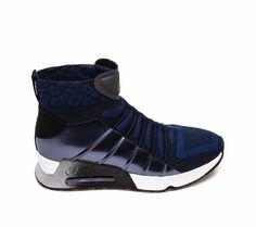 Ash Life Sneaker Midnight Black Fabric 360304 (411)