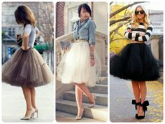 Thinking of a Tulle Skirt | Erica B.'s - D.I.Y. Style!