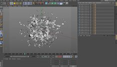 Cinema 4D - Baking Dynamics to Keyframes Tutorial