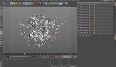 Cinema 4D - Baking Dynamics to Keyframes Tutorial