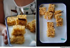 Rice bubble slice « Cooking Blog – Find the best recipes, cooking and food tips at Our Kitchen.