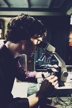 Benedict, the purple shirt, and science... These are a few of my favorite things.
