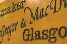 In 2003, we bought the Bath street basement store – a great location in the city centre of Glasgow! #macgregorandmacduff #kingsofkilts #glasgow