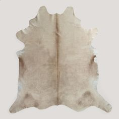 Natural Cowhide rug tan - Greige