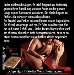 Textschnipsel Swirls, Erotica