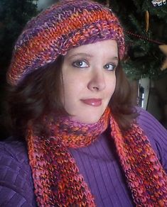 Ravelry: Super-simple fast and easy chunky hand-knit beret! pattern by Laurie Perry. Free