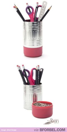 Oversized Pencil Pencil Holder. Adorable! #gifts