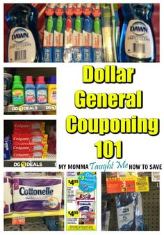 Dollar General 101: How to Coupon at Dollar General with our easy tips!