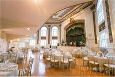 Tuckerman Hall, Worcester, MA wedding venue