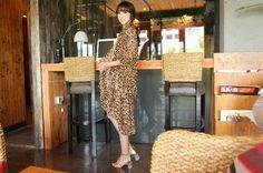 Lange sjaals met luipaardprint