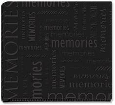"""Memories - Black 12"""" x 12"""" Post Bound Album"""