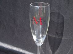 """Set of Six Champagne Flutes """"Montaudon"""" by VintageRetroOddities on Etsy"""