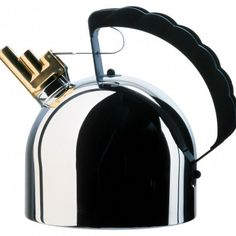 Alessi Officina Kettle 9091 BY Richard Sapper
