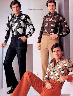 the 70s1972 menswear  70s fashion men disco fashion