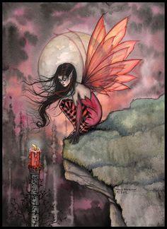Fairy Art by Molly Harrison - Autumn Flame