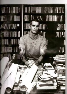 """Henry Rollins, love this guy. Recent quote I really liked """"I think ..."""