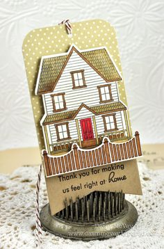Home Hostess Tag by Dawn McVey for Papertrey Ink (October 2012)