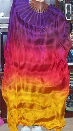 Sahariah's Silk Bellydance FANtasy Veil Budget by SilksbySahariah