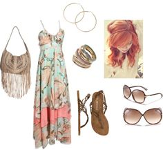 Beachy, created by michlee on Polyvore