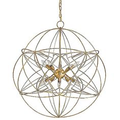 """34"""" Entry? Zenda Orb Chandelier by Currey and Company at Lumens.com"""