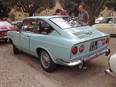 Fiat 850 coupé Sport | by vignaccia76 #fiat #italiandesign