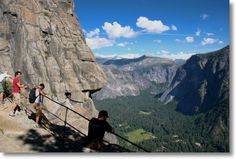 Upper Yosemite Falls Overlook