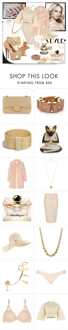 """▲◄✧☜•☺•☞✧►▲"" by missanacreativityinstyle ❤ liked on Polyvore featuring Chanel, Moxham, John Hardy, NOVICA, Philosophy di Alberta Ferretti, Orit Elhanati, Salvatore Ferragamo, River Island, Eugenia Kim and Maria Black"