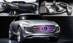 The car that doubles up as a SOLAR PANEL: Mercedes-Benz unveils concept vehicle that harnesses energy using its paintwork